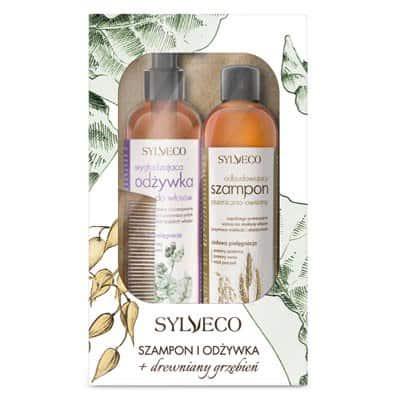 Zestaw wzmacniający do włosów szampon+odżywka Sylveco
