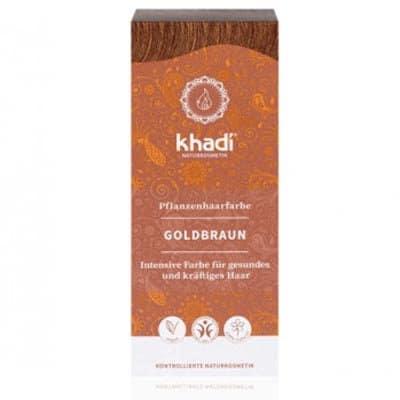 Henna Złoty Brąz 100g Khadi