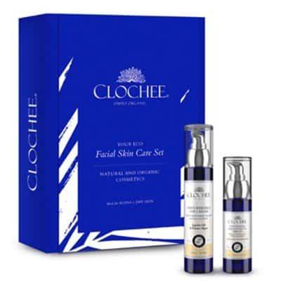 Zestaw Face Care – krem przeciwzmarszczkowy 50ml + serum odżywcze 30ml Clochee