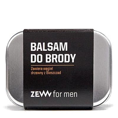 Balsam do brody z węglem drzewnym 80ml ZEW For Men