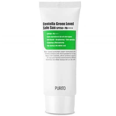 Centella Green Level Safe Sun – Ochronny krem przeciwsłoneczny SPF50+ PA++++ 60ml Purito