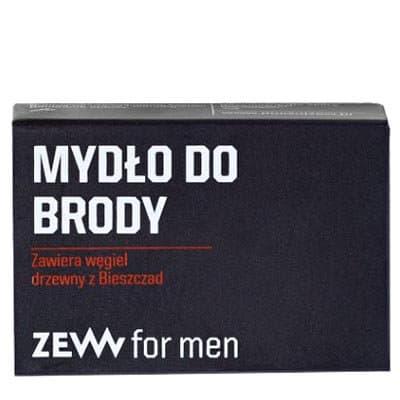 Mydło do Brody z węglem drzewnym 85 ml ZEW For Men
