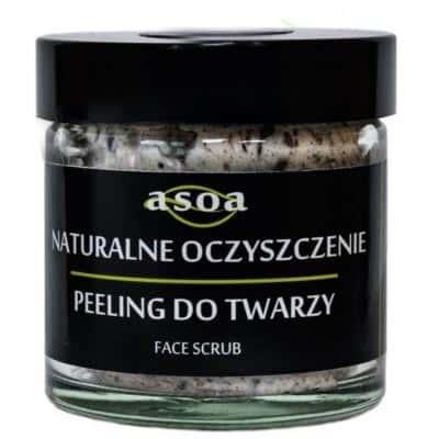 Naturalne oczyszczenie-peeling do twarzy 60ml ASOA