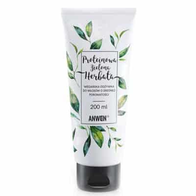 Proteinowa Zielona Herbata – odżywka do włosów o średniej porowatości 200ml Anwen
