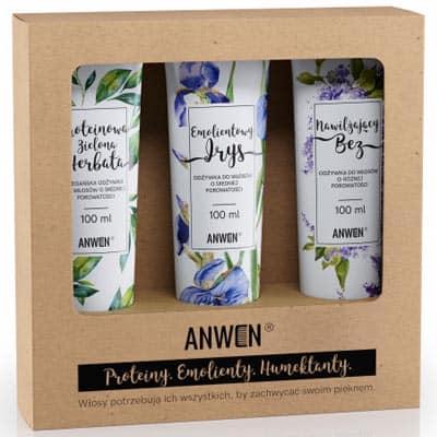 Wegański zestaw odżywek do średniej porowatości Anwen