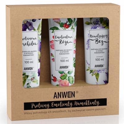 Zestaw odżywek do wysokiej porowatości Anwen