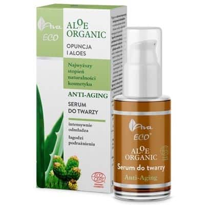 Aloe Organic Serum do twarzy Anti-Aging 30ml AVA