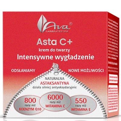 Asta C+Krem do twarzy intensywne wygładzenie na noc 50ml AVA