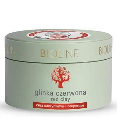 Glinka czerwona 150g Bioline