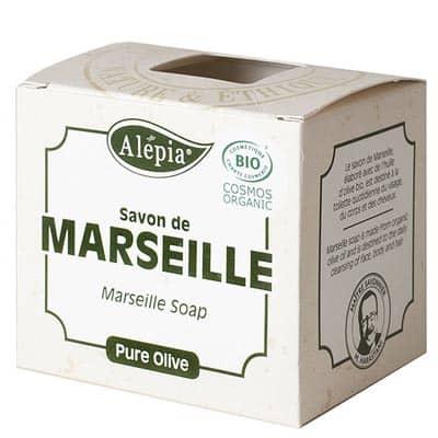 Mydło Marsylskie Bio 100% oliwa z oliwek 230g Alepia
