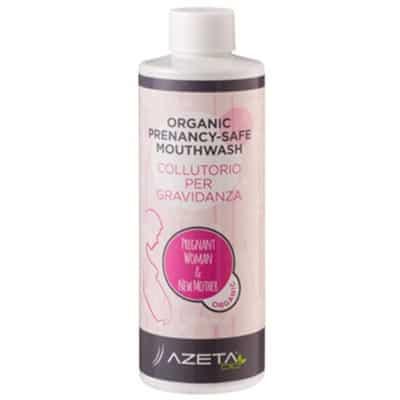 Organiczny płyn do płukania ust w ciąży 200ml Azeta Bio