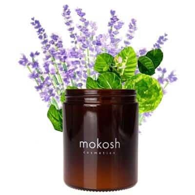 Roślinna świeca sojowa Sielska łąka 140g Mokosh