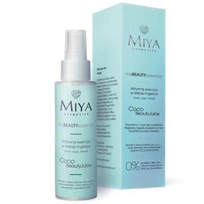 Aktywna esencja w lekkiej mgiełce – myBEAUTYessence COCO BeautyJuice 100ml Miya Cosmetics