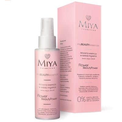 Aktywna esencja w lekkiej mgiełce – myBEAUTYessence FLOWER BeautyPower 100ml Miya Cosmetics