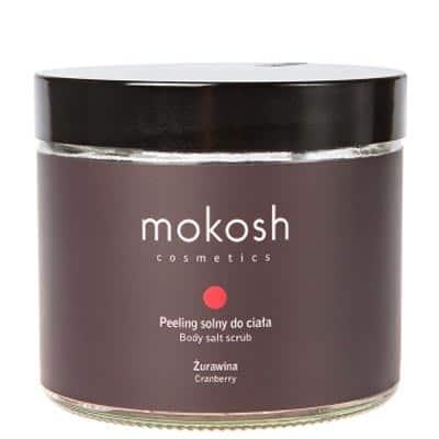 Peeling solny do ciała Żurawina 300g Mokosh
