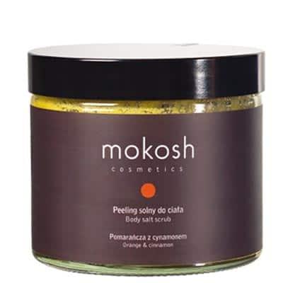 Peeling solny do ciała Pomarańcza z cynamonem 300g Mokosh