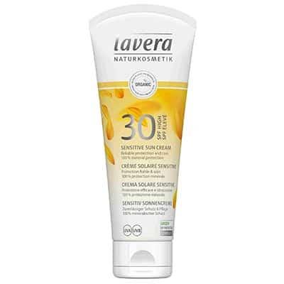 Krem do opalania do skóry wrażliwej SPF30 100ml Lavera