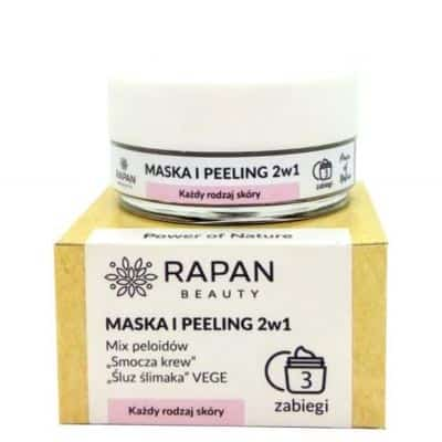 Maska i peeling 2w1 Power of Nature Intensive Care 3 zabiegi Rapan beauty
