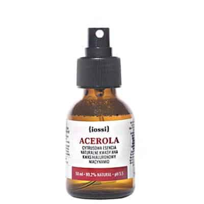 Cytrusowa Esencja Mini z kwasami AHA kwasem hialuronowym i niacynamidem 50ml IOSSI