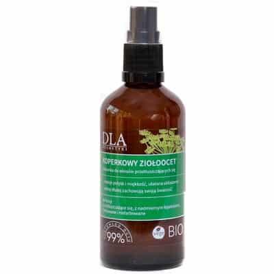 Koperkowy Ziołoocet płukanka do włosów przetłuszczających się 100g Kosmetyki DLA