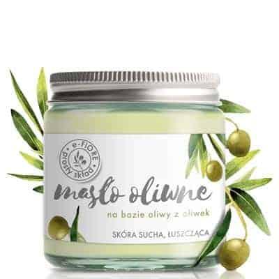 Masło Oliwne naturalne silnie regenerujące, hipoalergiczne 120ml e-Fiore