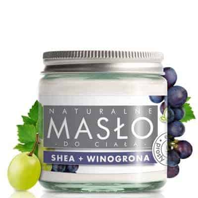 Masło do ciała 100% Naturalne Shea Butter Winogronowe 120ml e-Fiore