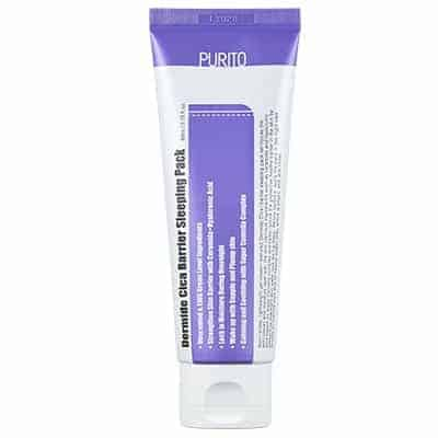 Dermide Cica Barrier Sleeping Pack 80ml Purito