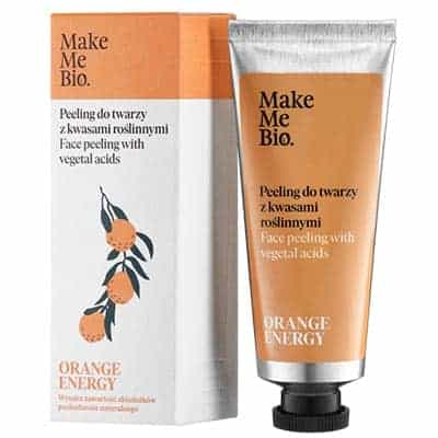 Orange Energy – Peeling do Twarzy z Kwasami Roślinnymi 40ml Make Me Bio