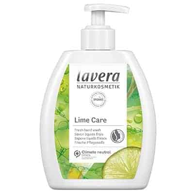 Mydło w płynie odświeżające bio-limetka i bio-trawa cytrynowa 250ml Lavera