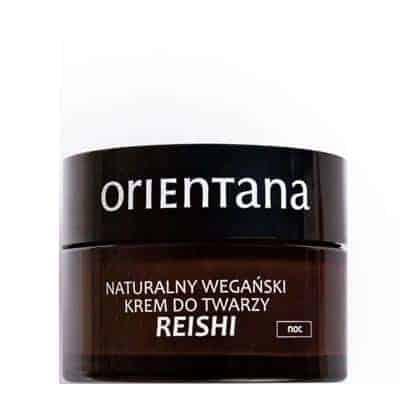 Naturalny wegański krem do twarzy Reishi na noc 50ml Orientana