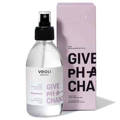 Tonik – kojąca mgiełka do twarzy GIVE pH A CHANCE 200ml Veoli Botanica