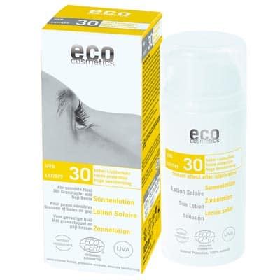 Emulsja na słońce SPF 30 z granatem i owocem goji 100ml Eco Cosmetics