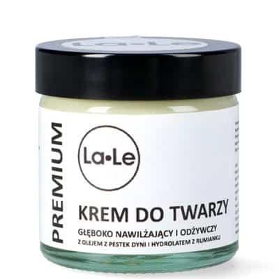 Krem do twarzy dyniowy – głęboko nawilżający z olejem z pestek dyni 60ml La-Le