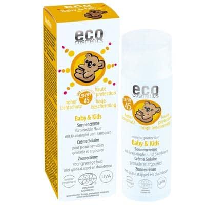 Krem na słońce SPF 45 dla dzieci i niemowląt 50ml Eco Cosmetics