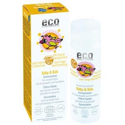 Krem na słońce SPF 50+ dla dzieci i niemowląt 50ml Eco Cosmetics