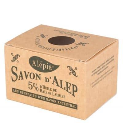 Mydło Aleppo z olejem laurowym 5% 190g Alepia