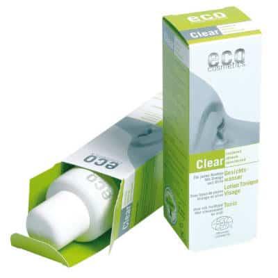 Clear – odświeżający tonik do twarzy 100ml Eco Cosmetics