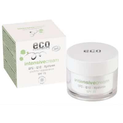 Intensive Krem intensywnie pielęgnujący SPF 15 z OPC, Q10 i kwasem hialuronowym 50ml Eco Cosmetics