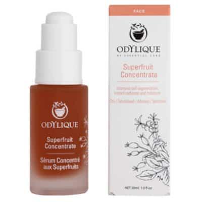 Odylique by Essential Care organiczne superowocowy koncentrat z olejami awokado i jojoba, głogiem, granatem i rokitnikiem 30ml