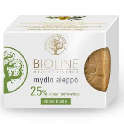 Mydło aleppo 25% 200g Bioline