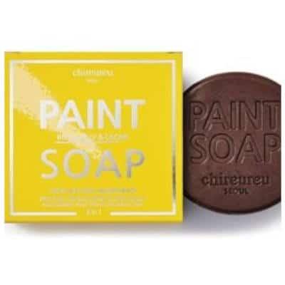 Chireureu Paint Soap nawilżająco-odżywcze z mleczkiem pszczelim i kakao 100g
