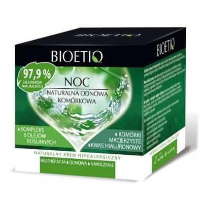 Naturalna Odnowa Komórkowa krem hipoalergiczny 40+ na noc 40ml Bioetiq
