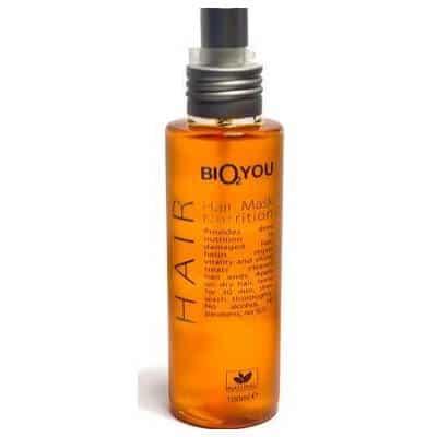 Odżywcza maska do włosów z olejów z oliwek, awokado, makadamia, jojoba, rokitnika i Wit. E w sprayu 100ml Bio2You