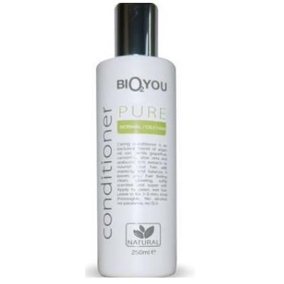Odżywka do włosów normalnych i przetłuszczających się z olejem kokosowym, pokrzywą, rumiankiem i rokitnikiem 250ml Bio2You