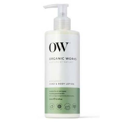 Organic Works organiczny nawilżający balsam do ciała i rąk Bergamotka 300ml