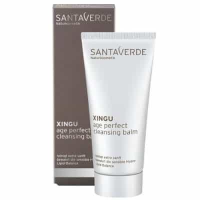 Santaverde XINGU Age Perfect intensywny przeciwzmarszczkowy balsam oczyszczający z sokiem z bio aloesu i bio nerkowca oraz ekstraktami aktywnych roślin z lasów deszczowych Brazylii 100ml