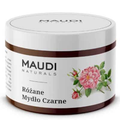 Mydło czarne różane 200g Maudi Naturals