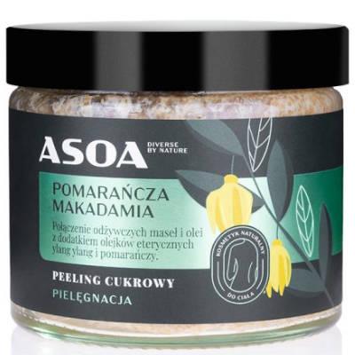 Peeling z olejem macadamia 250ml Asoa