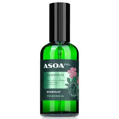 Hydrolat geraniowy 100ml Asoa