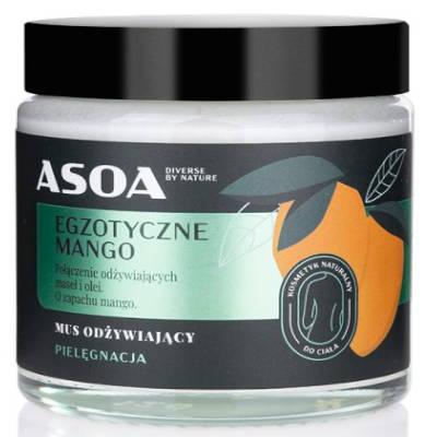 Masło – egzotyczne mango 120ml Asoa